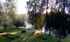 2015-10 Vattenrök över Uvån