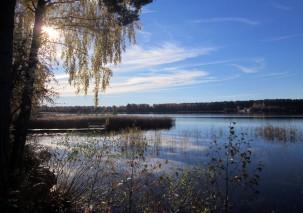 Rådasjön från Hreegårdsparken