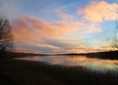 Rådasjön från Sjögränd