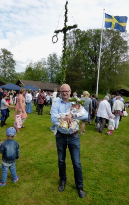 Lars Nyborg - stolt pappa!