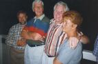 Ove, Kjell, jag och Florence