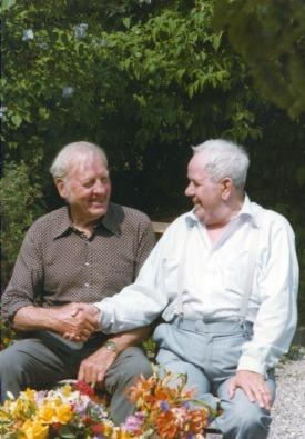 Harry Etling o pappa Evert