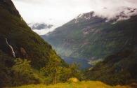 Norge sem ca 1990 ovan Geiranger