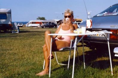 Semester Sydsverige 1988 AC slappar