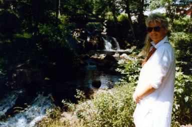 Semester Sydsverige 1988 AC vid ån