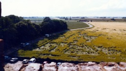 Semester Sydsverige 1988 vy fr Glimminghus slagregn