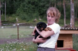 Stefan 31 Carina med hund