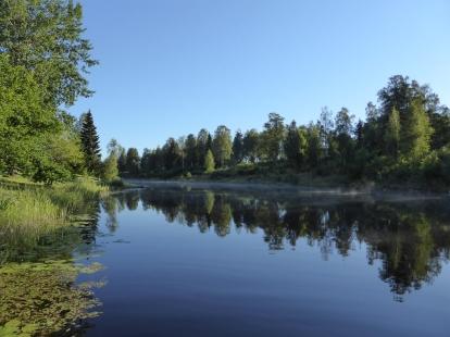 Uvån uppströms