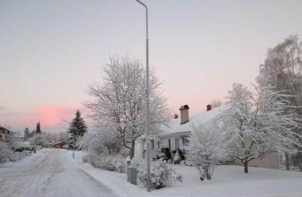 Huset - vinter