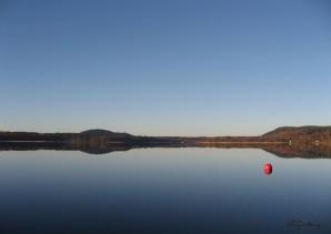 Rådasjön och Borrberg från Södra Gärdet