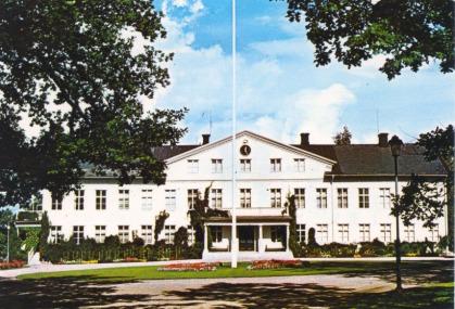 Herrgården Vykort för ICA-hallen Uddeholm