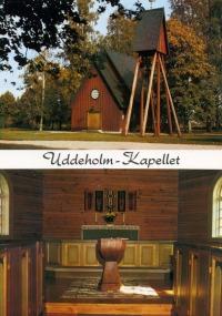 Uddeholms kapell Vykort för Stjärnhallen Uddeholm