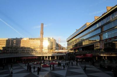 Sergels torg och Kulturhuset