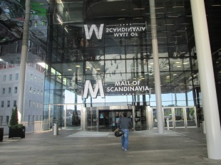 Mall of Scandinavia vid Friends Arena