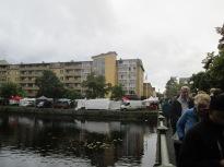Här vid en av broarna över Skillerälva