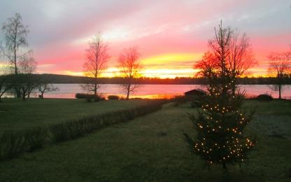 Solnedgång från Södra gärdet