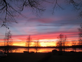 ... och här en tagen nedanför UddeholmsLadan
