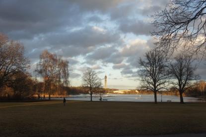 Kaknästornet från Djurgården