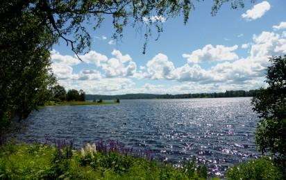Rådasjön från herrgårdsparken