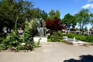 Sunne Centrum med Selma-statyn