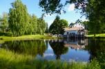 Och ännu en bild med dammen