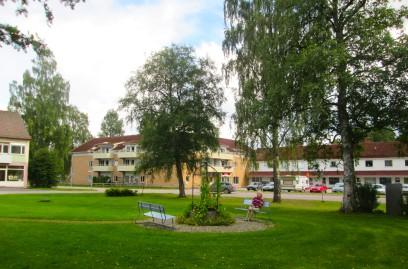 Från Uddeholms centrum