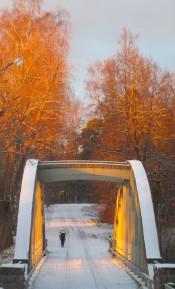 20171119 6 Gamla bron i riktigt fin aftonbelysning