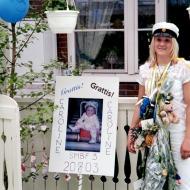 Caroline studenten år 2003
