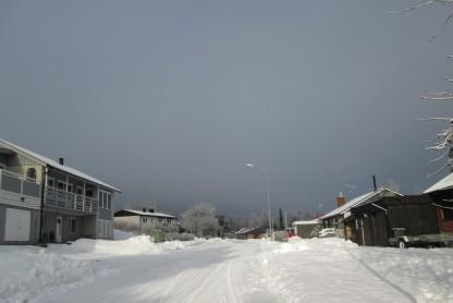 På väg, från Björkbacken och norrut ...