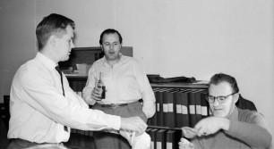 Gunnar Andersson, Gustav Lundberg, o Knut Jansson