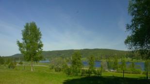 Lidsjön från Södra Väsby, där jag växte upp