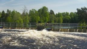 Munkfors Ovan forsen maj 2018