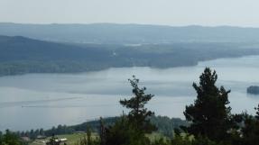 Tossebergsklätten, mot sydost