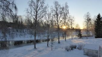 2019-01-11 Soluppgång från balkongen