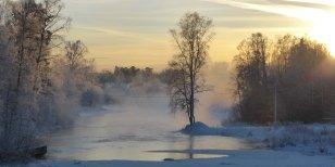 2019-01-20 Från gångbron Stjärnsfors