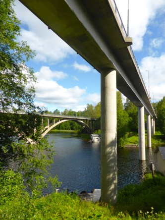 2019 Gångbron över Årosälven