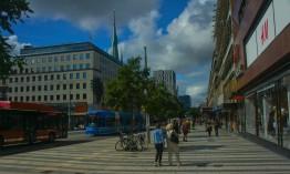 Klarabergsgatan vid Sergels torg