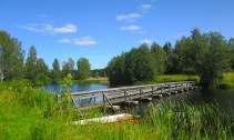 Pontonbron norr Björkbacken