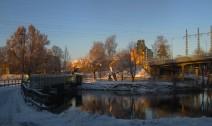 Från gamla bron