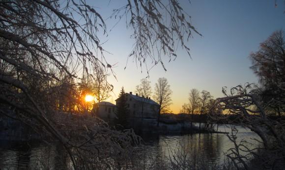 Uddeholms Herrgård från gamla bron
