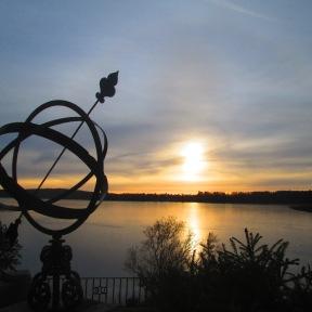 Uddeholm Rådasjön från herrgården