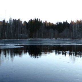 Uddeholm Stjärnsfors roterande irunt isflak