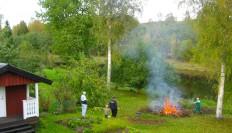 2008-09 Tage Mattias och Theo och jag som eldare