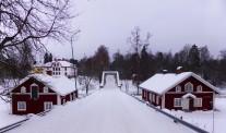 2014-02 Gamla bron med Vävstugan och Bystugan