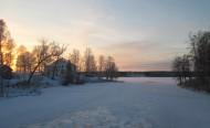 2016-01 Från g amala bron vid -21 °C