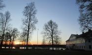 2016-11 Herrgården vid skymning