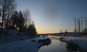 2019-12 Hagfors kanalen till järnverket