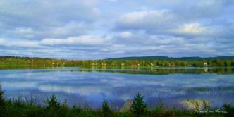 2016-06 Rådasjön och Uddeholm från Björnbyn