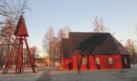 2020 1224 Uddeholms kapell med herrgården i bakgrunden