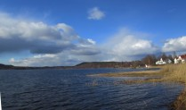 Rådasjön norrut från Södra gärdet